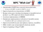 w pc wish list