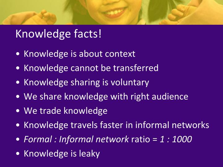 Knowledge facts!