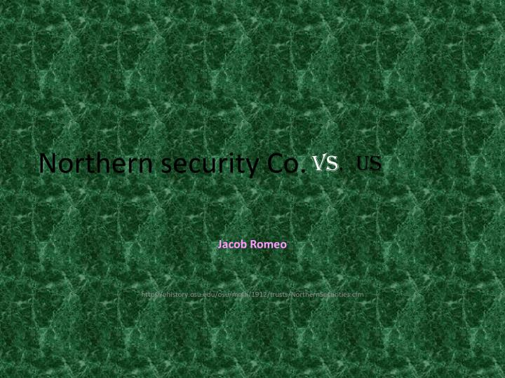 northern security co n.