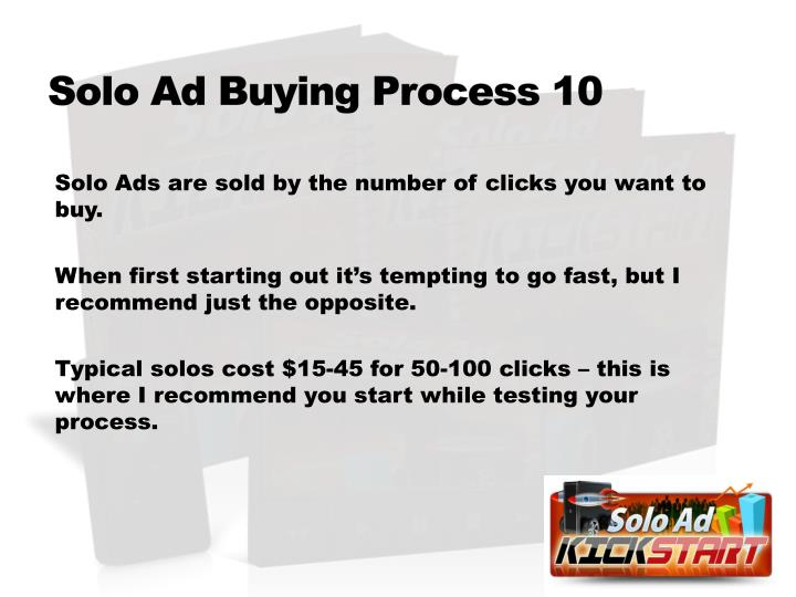 Solo Ad Buying Process 10