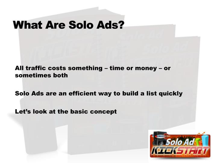 What Are Solo Ads?