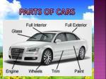parts of cars