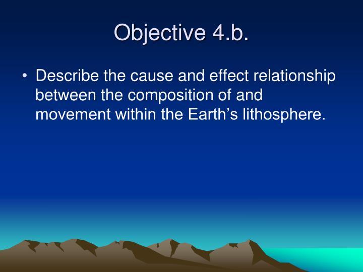 Objective 4.b.