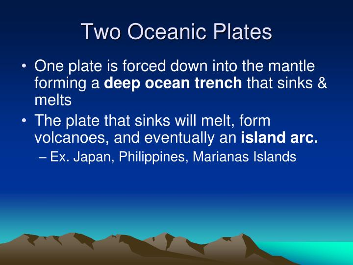 Two Oceanic Plates
