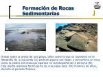 formaci n de rocas sedimentarias