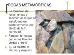 rocas metam rficas