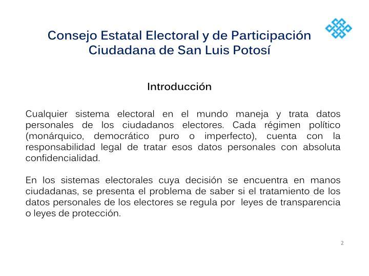 Consejo Estatal Electoral y de Participación Ciudadana de San Luis Potosí