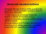 slovensk n rodn kni nica