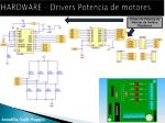hardware drivers potencia de motores