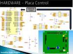 hardware placa control