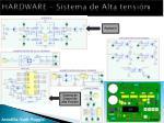 hardware sistema de alta tensi n