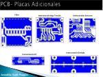 pcb placas adicionales