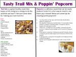 tasty trail mix poppin popcorn