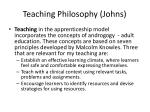 teaching philosophy johns2