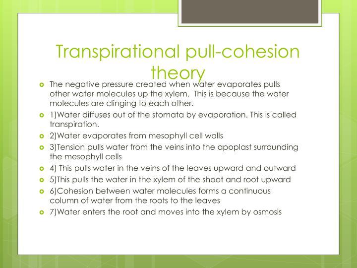 Transpirational