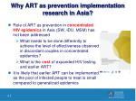 why art as prevention implementation research in asia