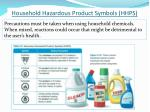 household hazardous product symbols hhps