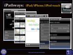 ipathways ipad iphone ipod touch