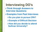 interviewing do s1
