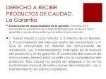 derecho a recibir productos de calidad la garant a5