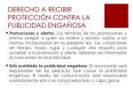 derecho a recibir protecci n contra la publicidad enga osa1