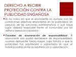derecho a recibir protecci n contra la publicidad enga osa2