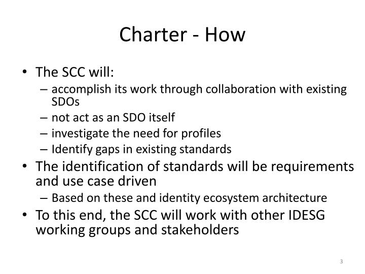 Charter how
