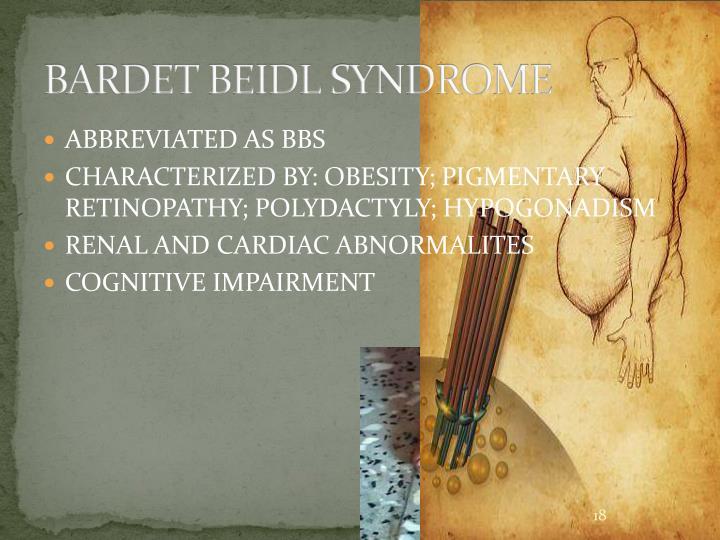 BARDET BEIDL SYNDROME