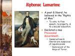 alphonse lamartine