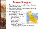 prussian resurgence