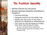 the frankfurt assembly