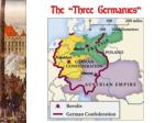 the three germanies
