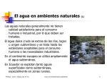el agua en ambientes naturales 1