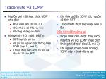 traceroute v icmp