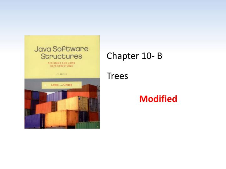 chapter 10 b trees n.