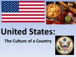 united states the culture of a country