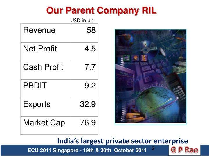 Our Parent Company