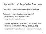 appendix 1 college value functions