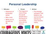 personal leadership1