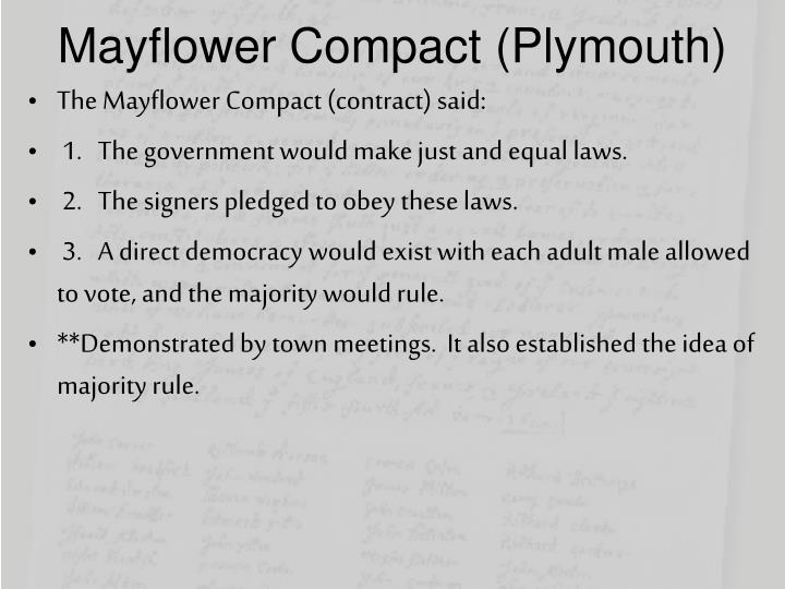 Mayflower Compact (Plymouth)
