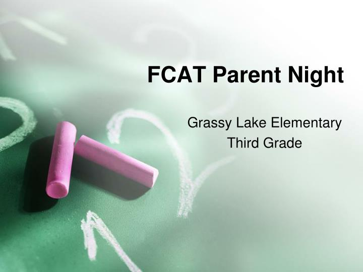 fcat parent night n.