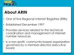 about arin