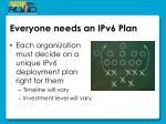 everyone needs an ipv6 plan