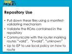 repository use