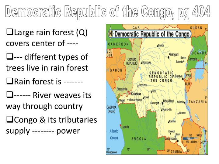 Democratic Republic of the Congo, pg 404