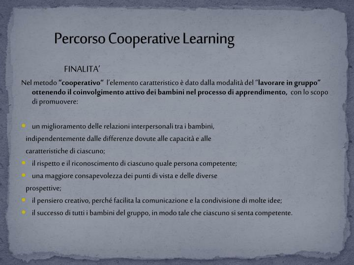 percorso cooperative learning n.