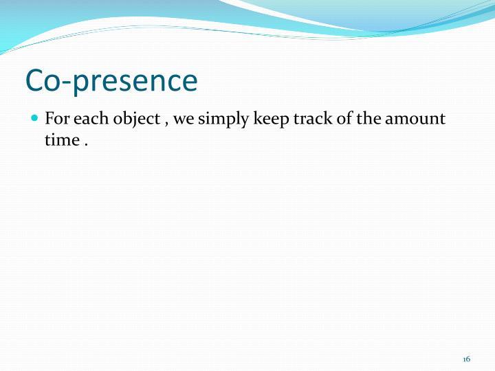 Co-presence