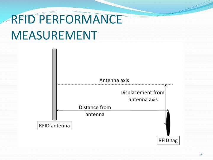 RFID PERFORMANCE MEASUREMENT