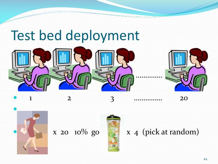 Test bed deployment