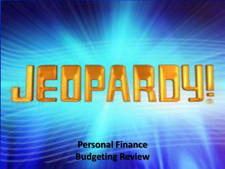 personal finance budgeting review n.